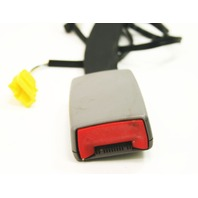 RH Front Seat Belt Receiver 02-05 VW Jetta Golf MK4 Gray - 1J4 858 472 K