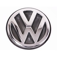 Trunk Emblem Badge Sign 93-99 VW Jetta MK3 - Chrome - Genuine - 1H5 853 630 D