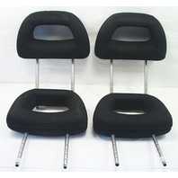 Complete Headrest Set 98-05 VW Beetle - Black Cloth - Genuine