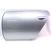 LH Rear Door Shell Skin - 98-01 Audi A6 - LY7M Aluminum Silver - Genuine