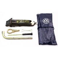 Genuine Spare Tire Tool Kit Jack Lug Wrench Bag 93-99 Jetta Golf GTI Cabrio Mk3