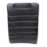 LH Rear Sport Seat Back Rest - 00-02 Audi S4 B5 - Black Leather - Genuine