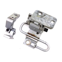 RH Front Door Hinges Audi A6 S6 98-04 C5 Allroad - LY7W Silver - 4B0 831 412 B