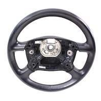 Steering Wheel 98-04 Audi A6 C5 - Black Leather - Genuine - 8Z0 419 091 F