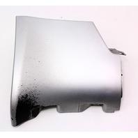RH Rear Side Skirt End Cap Trim 98-04 Audi A6 C5 - LY7M Silver - 4B0 853 580