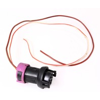 Steering Rack Servotronic Wiring Plug Pigtail 02-04 Audi A6 - 813 971 955