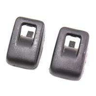 Child Seat Safety Restraint Bracket Hooks 06-13 Audi A3 - Black - 443 887 301 C