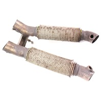 Down Pipe Exhaust Flex Pipes 06-10 VW Passat B6 3.6 VR6 BLV - Genuine