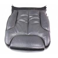 LH Front Seat Cushion & Cover 06-10 VW Passat B6 - Black Leather - Genuine