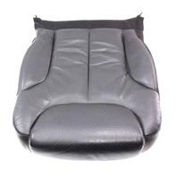 RH Front Seat Cushion & Cover 06-10 VW Passat B6 - Black Leather - Genuine