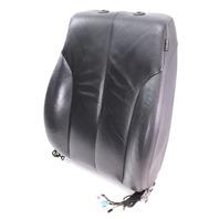 LH Front Seat Back Rest Air Bag 06-10 VW Passat B6 - Black Leather - Genuine