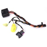 RH Heated Seat Wiring Plugs Pigtails Airbag 06-10 VW Passat B6  - 7L0 972 752