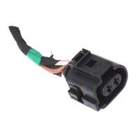 Headlight Washer Pump Plug Pigtail Connector 06-10 VW Passat B6 - 1J0 973 722 A