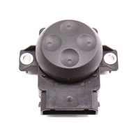 Seat Lumbar Switch Audi A4 A3 Black Genuine - 8E0 959 777