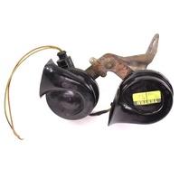 High & Low Tone Horn Set 01-10 VW Beetle - Hella Horns & Bracket - 1C0 951 221