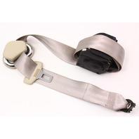 RH Rear Seat Belt 2005 VW Beetle - Cream Beige - Genuine - 1C0 857 806 A