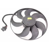 LH Electric Cooling Fan Motor 98-05 VW Beetle - Genuine Temic - 1C0 959 455