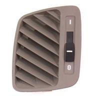 LH Upper Defrost Dash Vent 98-04 Audi A6 S6 RS6 C5 Allroad - Gray - 4B0 819 793