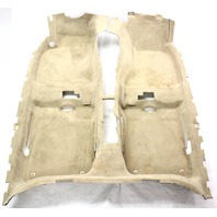 Floor Carpet 00-04 Audi A6 V8 C5 - Sedan - Beige - Genuine - 4B7 863 021 N