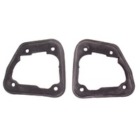 2x Taillight Tail Light Lamp Gasket Seals Pair 98-04 Audi A6 Sedan - Genuine
