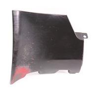 RH Rear Side Skirt End Cap Trim 98-04 Audi A6 V6 - LY9B Black - 4B0 853 580