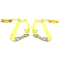Hood Hinges Pair 98-10 VW Beetle LD1B Yellow - Genuine - 1C0 823 301 / 302