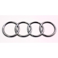 Trunk Rings Emblem Badge - 96-02 Audi A4 S4 B5 - Genuine