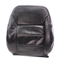 RH Front Seat Back Rest Cover & Foam 99-05 VW Jetta MK4 ~ Heated Black Leather