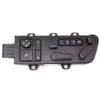 LH Front Seat Control Switches Buttons 04-06 VW Phaeton ~ 3D0 959 765 M