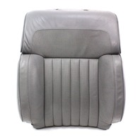 RH Front Grey Leather Seat Back Rest Foam & Cover 04-06 VW Phaeton - Genuine