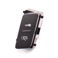 LH Front Door Panel Lock Switch Button 04-06 VW Phaeton - Genuine - 3D0 962 125