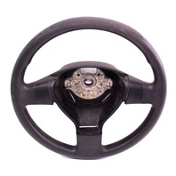 3 Three Spoke Steering Wheel 05-10 VW Jetta Rabbit MK5 - Black - 1K0 419 091