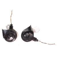 High & Low Tone Horns 05-10 VW Jetta Rabbit GTI MK5 - Bosch - Genuine