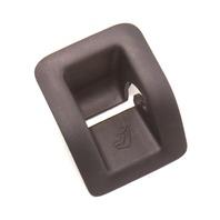 Rear Child Seat Safety Hook Covers 05-10 VW Jetta MK5 - Genuine - 1K5 887 233 C