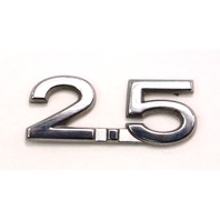 2.5 Trunk Emblem Badge Logo 05-10 VW Jetta Rabbit MK5 - Genuine