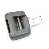 Front Male Seat Belt Buckle Clip 04-06 VW Phaeton - Seatbelt - Genuine