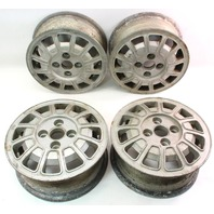 "13"" Alloy Aluminum Wheels Rims Set 75-81 VW Scirocco MK1 Genuine Original Stock"
