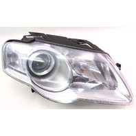 RH Headlight Head Light Lamp 06-10 VW Passat B6 Halogen TYC - 20-6740-00