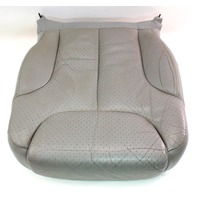 LH Front Seat Lower Cushion & Cover 06-10 VW Passat B6  - Grey Leather - Genuine