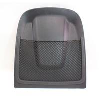 Front Seat Rear Back Panel Trim Pocket 09-16 Audi A4 B8 - Black - 8T0 881 969