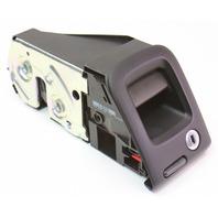 LH Rear Seat Latch Lock 09-16 Audi A4 B8 - Black - Genuine - 8K5 885 681