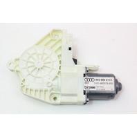 LH Rear Power Window Motor 09-16 Audi A4 S4 B8 - Genuine - 8K0 959 811 A