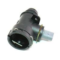 Lower Radiator Coolant Hose Flange & Sensor 06-10 VW Passat B6 2.0T BPY