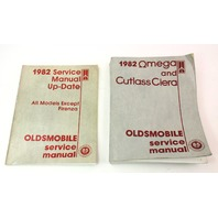 1982 Oldsmobile Factory Service Manual & Update