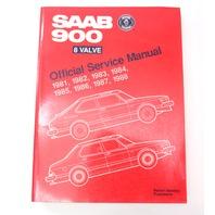 81-88 Saab 900 8 Valve Official Bentley Service Manual 0216531 S988