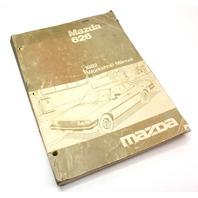 1982 Mazda 626 Workshop Service Manual 1052-10-81G