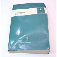 Mercedes Factory Service Manual Engine 102 190E - 6510 1919 13