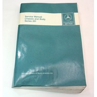 Mercedes Benz Factory Service Manual Chasis And Body Series 201