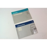 Mercedes Operating Instructions Owners Manual 200 240 300 D W123 - German