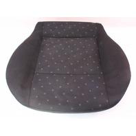 Front Seat Cushion & Cover 99-01 VW Jetta Golf MK4  - Black Cloth - Genuine